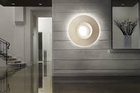 contemporary wall contemporary ceiling light pmma fabric mood by bruno