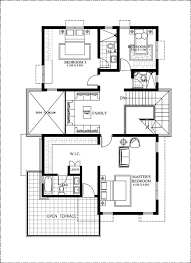 how to design a floor plan of a house 50 images of 15 two storey modern houses with floor plans and