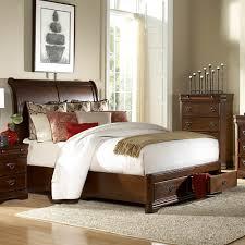 bedroom nebraska furniture mart beds cherry sleigh bed metal