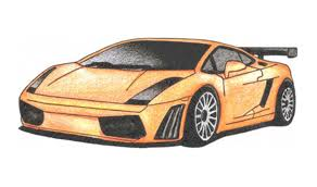 lamborghini diablo drawing how to draw a lamborghini gallardo car