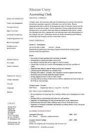 technical skills resume accounting technical skills resume clerk sle exle