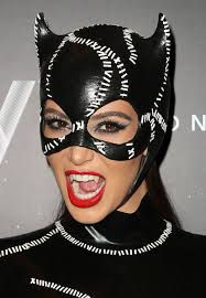 catwoman halloween suit kim kardashian as catwoman at halloween birthday bash at liv