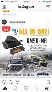 Rugged Ham Radio New Radio By Ruggedradios Cb And Ham All In One Overland Bound