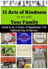 11 acts of kindness to do with your family pennies of time