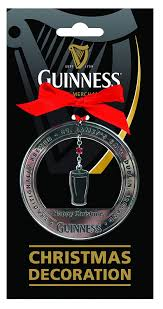 guinness tree decoration pint home kitchen
