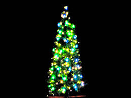 Ceramic Christmas Tree With Lights For Sale Abraxus Lighting 7ft Tree With White Lights And Dmx Rgb Balls