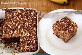 wholegrain banana cake recipe best eggless oat crunch cake