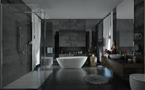 Stone Bathroom Designs Giving The Impression Of Luxury In The Bathroom By Selecting