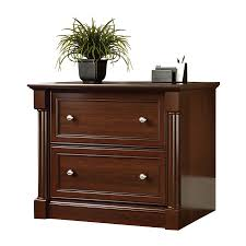 sauder 2 drawer file cabinet shop sauder palladia cherry 2 drawer file cabinet at lowes com