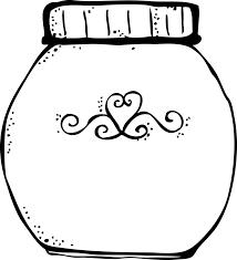 jam jar coloring page kids drawing and coloring pages marisa