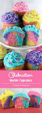 celebration marble cupcakes two sisters crafting