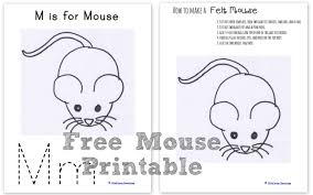 how to make a felt mouse wildflower ramblings