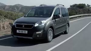 peugeot range 2015 peugeot partner tepee press film youtube