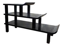 Asian Coffee Tables by James Mont Black Asian Pagoda 3 Tier Table Chairish
