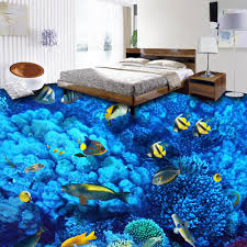 3d Bathroom Floors by High Quality 3d Bathroom Flooring Paper Custom Size Hd Under The Sea 3d Foor Murals Home Jpg