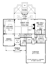 Donald Gardner Floor Plans Farmhouse Style House Plan 4 Beds 4 50 Baths 2763 Sq Ft Plan