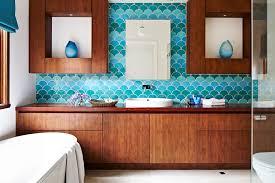 Turquoise Bathroom Vanity Turquoise Bathroom Bathroom Contemporary With Timber Bathroom