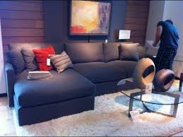 blue sectional sofa with chaise blue sectional sofa with chaise youtube