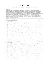 project management resume templates create project manager resume template microsoft word project