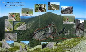 Adirondack Mountains Map Adirondack Slide Climbs By Mountain Custom Object Summitpost