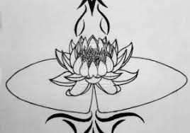 ideas lily tribal tattoos tribal and lily flower tattoos on ankle
