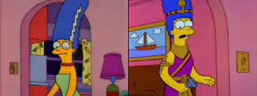 Marge Simpson Halloween Costume Reading Digest Marge Costume Edition Dead Homer Society