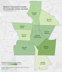 Phoenix Metro Area Map by Has Charlotte Metro Income Really Declined Unc Charlotte Urban
