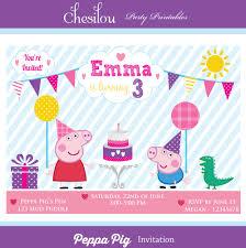 peppa pig birthday clipart 34