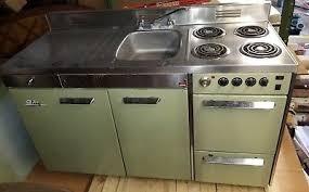 metal kitchen sink and cabinet combo vintage king metal kitchen refrigerator stove oven sink