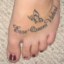 30 beautiful foot tattoos for girls