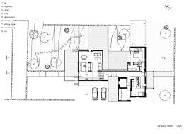 design floor modern hotel first plan architecture house plans