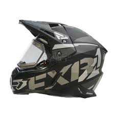 motocross helmet with shield fxr racing black ops fx 1 team helmet w electric shield 170609