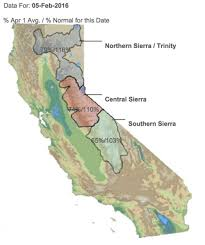 California Weather Map Dry Weather Could Cut Into California U0027s Snowpack Climate