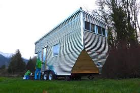 Tiny Home Listings by This Tiny House On Wheels Is Shiny Eco Friendly And 30k