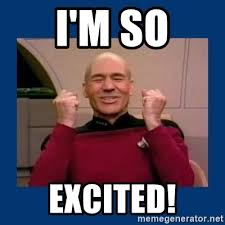 So Much Win Meme - i m so excited captain picard so much win meme generator