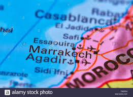 Morocco On World Map by Morocco Map Stock Photos U0026 Morocco Map Stock Images Alamy