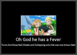 Fever Meme - ash serena fever meme by 42dannybob on deviantart