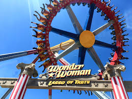 Six Flags Valejo Wonder Woman Lasso Of Truth At Six Flags Discovery Kingdom Review