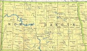 Pierce College Map North Dakota Outline Maps And Map Links