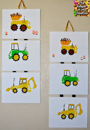 footprint trucks amazing artwork for kids rooms footprint crafts