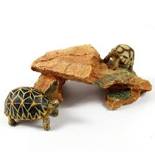 aliexpress buy fish tank ornaments crawler box turtle island