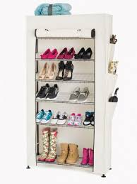 Commercial Wire Shelving by 7 Tier Wire Shoe Rack In Black Wire Shelf Additions