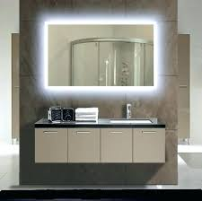 Bathroom Cabinet With Mirror And Lights Large Vanity Mirror With Light Bulbs Big Lights Size Of Medium