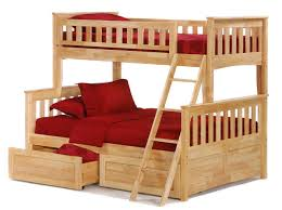 Stunning Wooden Triple Bunk Beds For Adults Photo Ideas Tikspor - Triple bunk bed wooden