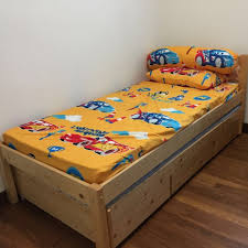 Seahorse Bed Frame Seahorse Brand Wooden Bed Frame With Pull Out Drawers Sold Home