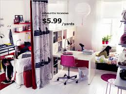 bedroom exciting ikea college dorm pink swivel chair white tiles