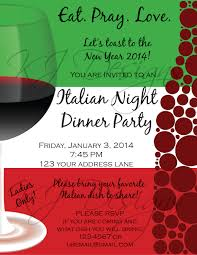 open house invitations templates italian dinner party invitation template don huppe pinterest