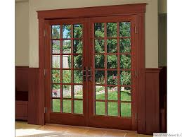 Wood Sliding Glass Patio Doors Spectacular Wood Sliding Patio Doors R72 On Stunning Home Decor