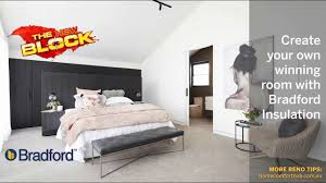 Bedroom Wall Insulation How To Create A Bedroom Sanctuary With The Block And Bradford