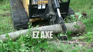 ez axe manual tree shears quickattach